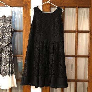 Perfect LBD.  Lane Bryant size 22 lace dress